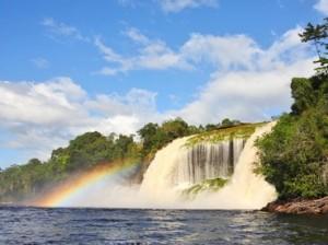 Wasserfall Canaima National Park Venezuela