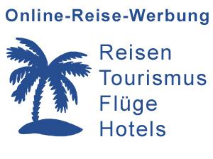 online-Reise-Werbung und Tourismus-Marketing